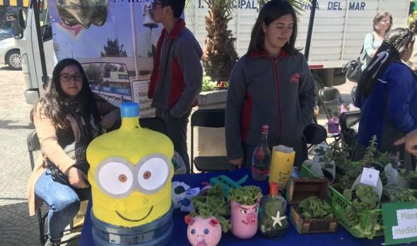 Escuelas municipales de Viña del Mar postulan a certificación ambiental con acciones que desarrollan en sus planteles