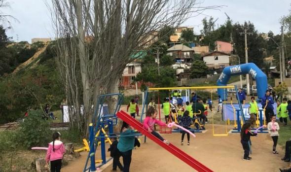 Municipio de Viña del Mar construirá plaza de juegos para conjunto habitacional de Santa Julia