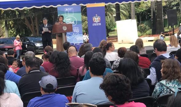 265 familias fueron beneficiadas con subsidio habitacional del Fondo Solidario del MINVU