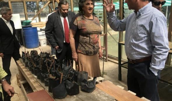 Labor de Corporación La Granja en beneficio de personas con capacidades diferentes fue destacado por alcaldesa Virginia Reginato