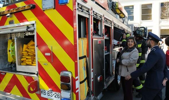 Municipio de Viña del Mar otorgó subvención por más de $92 millones al cuerpo de bomberos