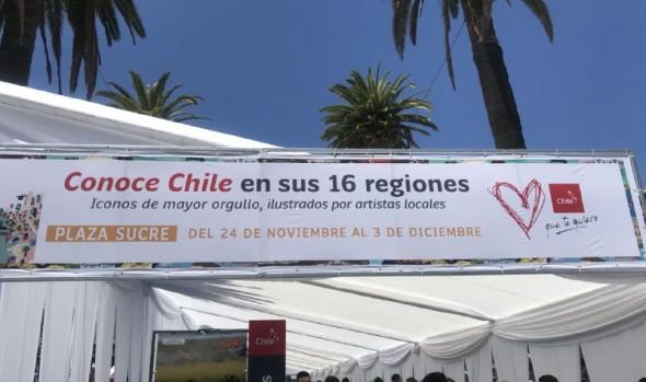 """Municipio de Viña del Mar invita a la comunidad a visitar exposición """"Conoce Chile en sus 16 regiones"""""""