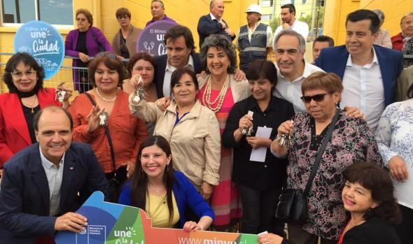 112 familias de Forestal Alto cumplieron la meta de una vivienda propia