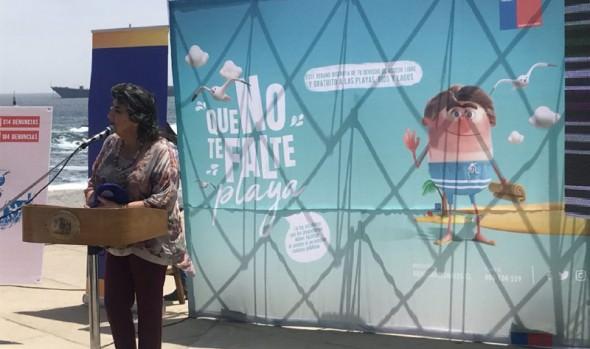 En Viña del Mar se lanzó a nivel nacional campaña de libre accesos a playas