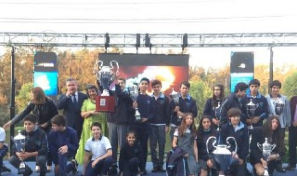 """7 mil estudiantes participaron en XIV Olimpiada Escolar """"Campeones para Viña"""""""
