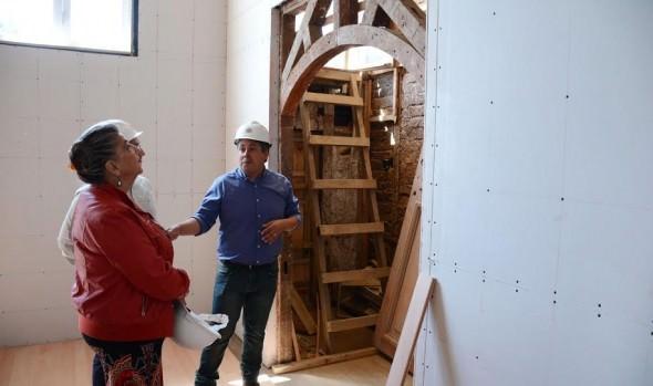Reanudan faenas de restauración de Museo de Bellas Artes-Palacio Vergara
