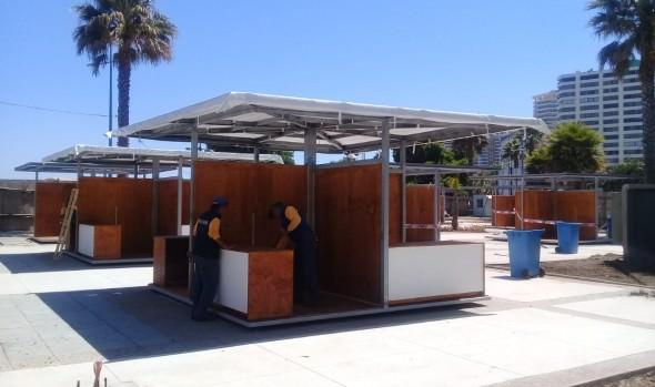 Plaza de los Artesanos en Viña del Mar entra en funcionamiento el 18 de diciembre