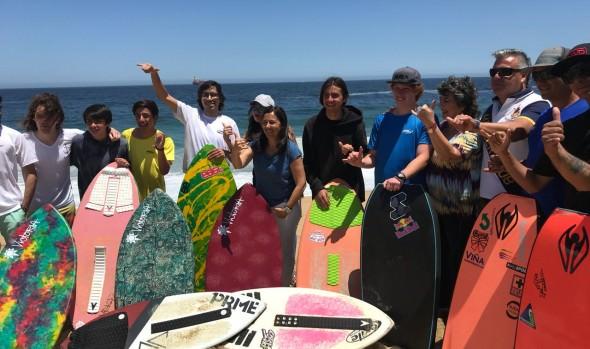 Ministra Pauline Kantor destaca implementación de la Playa del Deporte de Viña del Mar