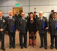 Alcaldesa Virginia Reginato destacó  labor del Cuerpo de Bomberos de Viña del Mar en su 134º aniversario