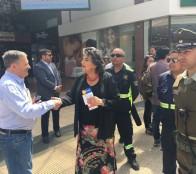 """Municipio de Viña del Mar impulsa campaña """"Navidad Segura"""" en el comercio establecido"""