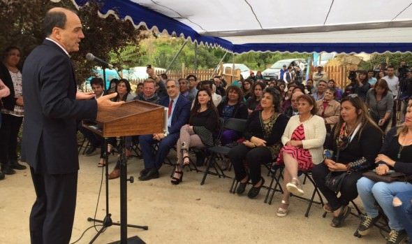 Campamento Manuel Bustos en Viña del Mar inicia su proceso de urbanización sanitaria