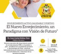 Municipio de Viña del Mar invita a charla sobre envejecimiento activo, saludable y positivo