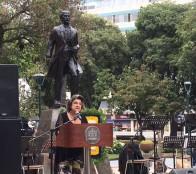 Alcaldesa Virginia Reginato destaca los 144 años de la Fundación de Viña del Mar