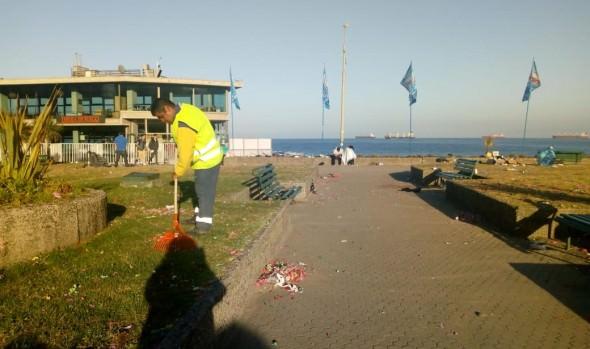 300 toneladas  de  residuos se retiraron desde borde costero y calles de Viña del Mar: