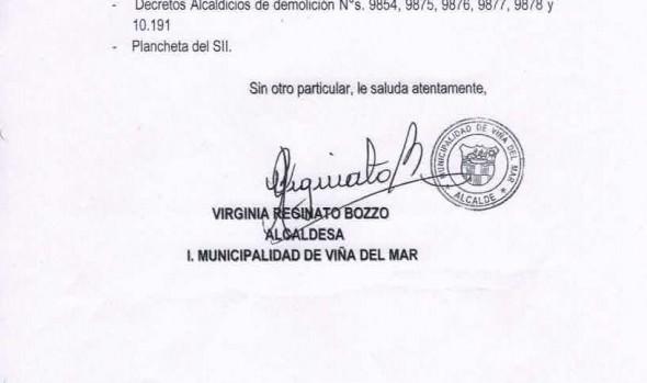 Municipio de Viña del Mar solicitó auxilio de la fuerza pública para demolición y retiro de toma ilegal en sector Limonares