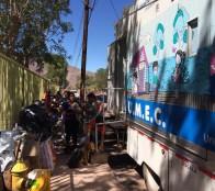 Municipio de Viña del Mar ayuda con clínica  veterinaria móvil  a mascotas afectadas en incendio de Limache
