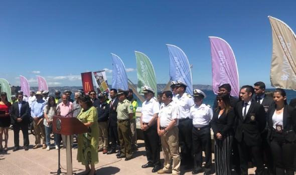 Municipio de Viña del Mar refuerza seguridad en borde costero con programa Verano Seguro 2019