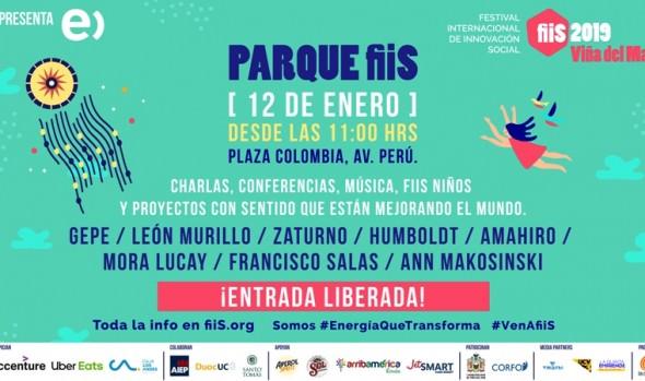 Festival de Innovación Social Fiis Viña 2019 presenta atractivos para toda la familia
