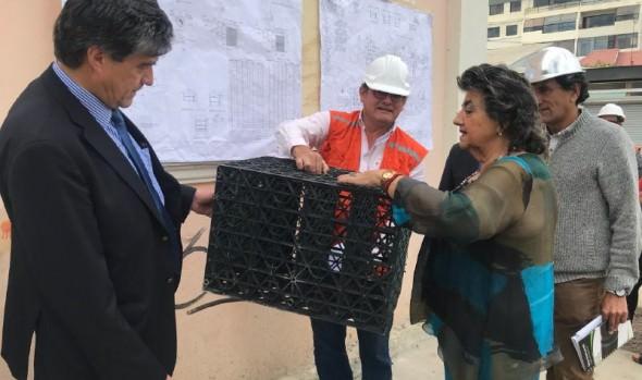 En Viña del Mar construyen tres nuevos pozos absorbentes para prevenir anegamientos durante el invierno