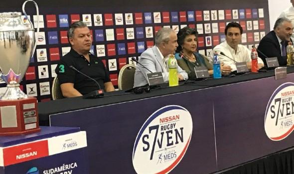 """En Viña del Mar """"Los Cóndores"""" buscan reeditar en el Rugby Seven, su triunfo de Punta del Este"""
