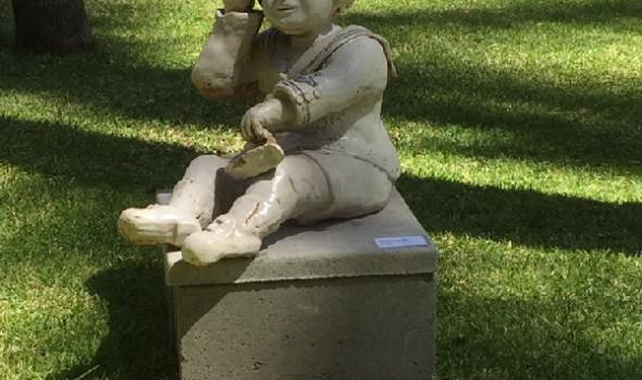 Muestra de esculturas en jardines del Palacio Rioja, fue inaugurada por alcaldesa Virginia Reginato