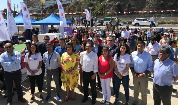 "En Viña del Mar se inicia gira nacional ""Elige Vivir Sano, Chile se mueve en verano"""
