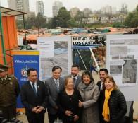 Alcaldesa Virginia Reginato destaca construcción de nuevo puente Los Castaños