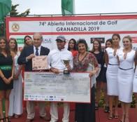Clodomiro Carranza se quedó con el Abierto Internacional de golf de Granadilla
