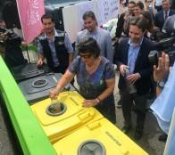 Alcaldesa Virginia Reginato valora la  importante contribución al medioambiente