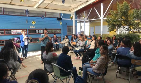 Educadoras y técnicos de párvulos de Viña del Mar se capacitaron para fortalecer proceso educativo de menores