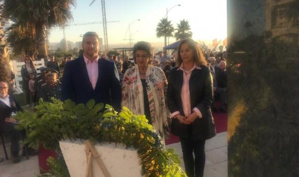 """Viña del Mar conmemoró los 70 años del récord mundial de Salto alto obtenido por Larraguibel y """"Huaso"""""""