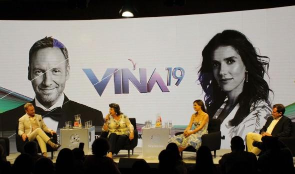 Alcaldesa y animadores dieron el vamos a 60ª edición del Festival Internacional de la Canción