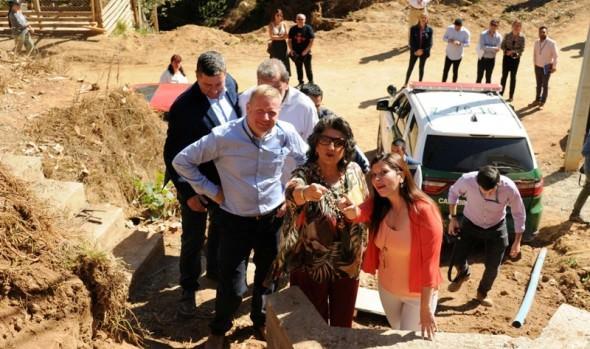 Comunidad del campamento Río Valdivia de Chorrillos contará con urbanización sanitaria durante este semestre
