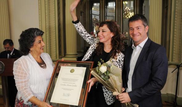 Municipalidad premia a viñamarinas destacadas en el Día Internacional de la Mujer