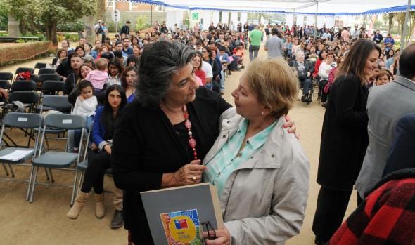 165 familias viñamarinas fueron beneficiadas con subsidio para sectores medios