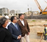 Alcaldesa Virginia Reginato reitera la importancia del puente Los Castaños como una solución vial próxima a ser realidad