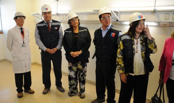 Entrega parcial de obras del Hospital Gustavo Fricke destacó alcaldesa Virginia Reginato
