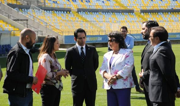 Autoridades inspeccionaron estadio Sausalito ante final de la Súper Copa de Chile 2019