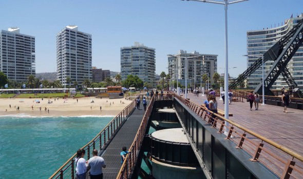 Municipio de Viña del Mar extiende horario de cierre de Muelle Vergara