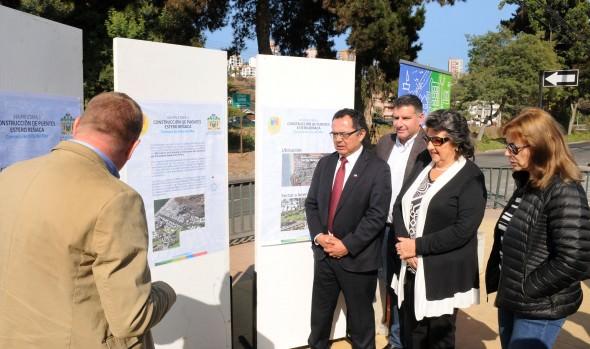 Construcción de dos nuevos puentes sobre estero de Reñaca se inicia el último trimestre de este año