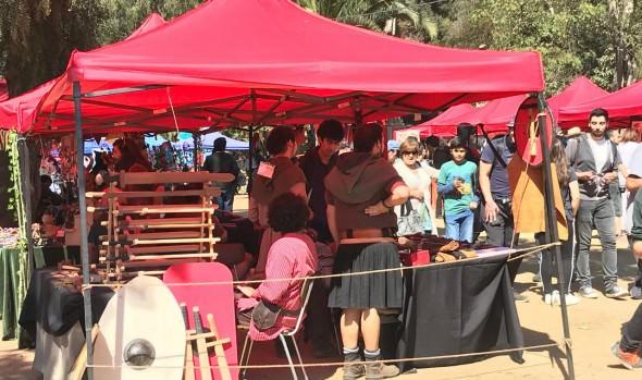 Municipio acoge a 6ª versión de Feria Medieval y de Fantasía en parque Potrerillos