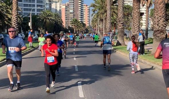 Con masiva participación debutaron en Viña del Mar las Corridas Familiares 2019