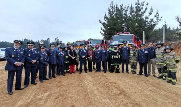 En Viña del Mar se implementará el primer Centro de entrenamiento para bomberos