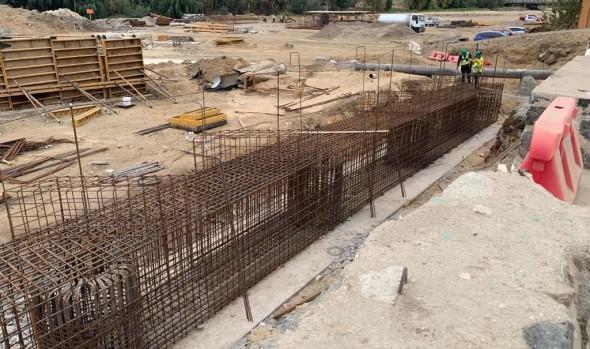 Construcción de puente Los Castaños avanza dentro de los plazos proyectados