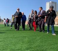 Primera cancha de pasto sintético pública de Viña del Mar tendrá estándares FIFA
