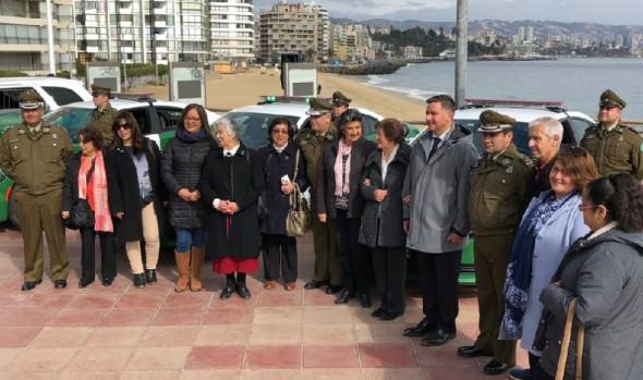 8 modernas patrullas de Carabineros reforzarán la seguridad en barrios de Viña del Mar