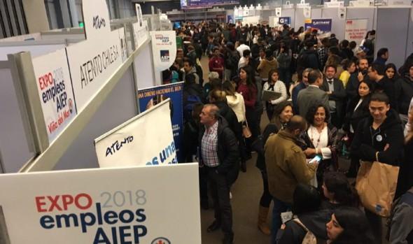 Más de 1.000 puestos de de trabajo ofrecerá expo empleos AIEP Viña 2019
