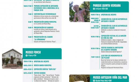Viña del Mar ofrece extenso programa de actividades para celebrar el Día del Patrimonio