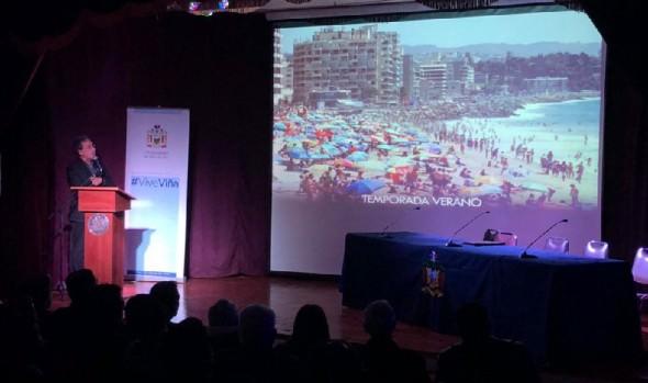 Municipio, Carabineros, Armada y PDI renuevan compromiso para coordinar realización de actividades en Viña del Mar