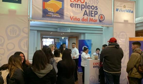 11ª versión de Expo empleos AIEP Viña del Mar 2019 ofrece 1.600 vacantes laborales